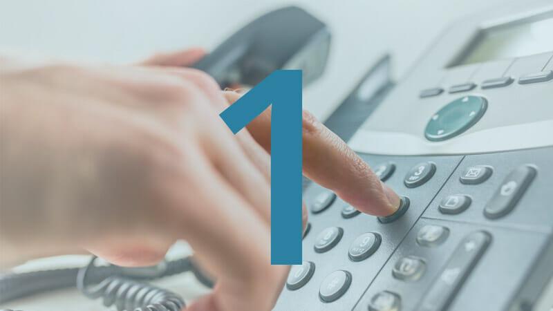 Rufumleitung zum Telefonsekretariat