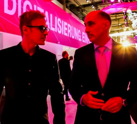 Interview auf der CeBit in Hannover
